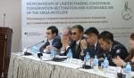 Participants to the Saiga MOU MOS3 - Tashkent, Uzbekistan ©Alexander Esipov