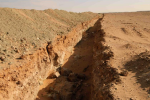 Ditches during pipeline construction in Central Asia ©WCS K. Murphy