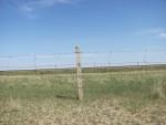 Fence placed along the Trans-Mongolian Railway © Natalya Yakusheva