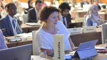Fiona Bartlett, Australia, at MOS8 (October 2019)