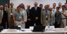 Participants of the 1st Meeting of the Saker Falcon Task Force.