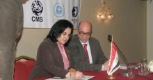 The Syrian Arab Republic signed the Raptors MoU on 22 Dec 2014