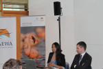 Energy Task Force Side Event: Aida Kowalska (BirdLife), Jürgen Friedrich (BMUB)