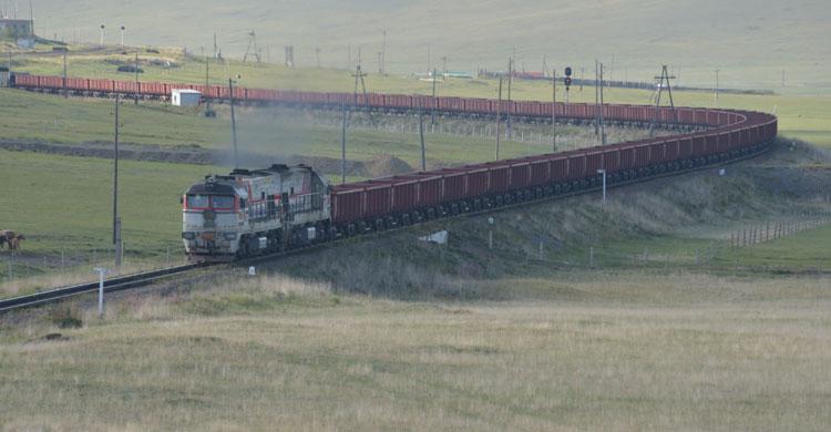 Trans-Mongolian Railway © Ralf Grunewald/BfN