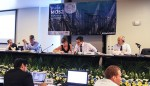 Sharks MOS2 - view of the podium © IISD