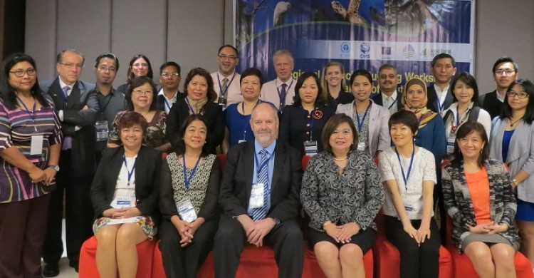 Participants to the South and South-East Asia workshop - © Francisco Rilla