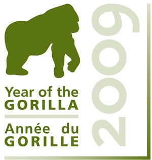 Year of the Gorilla 2009 Logo