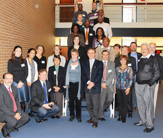 Participants of the Family Manual Working Group Meeting in Bonn  © F. Rilla