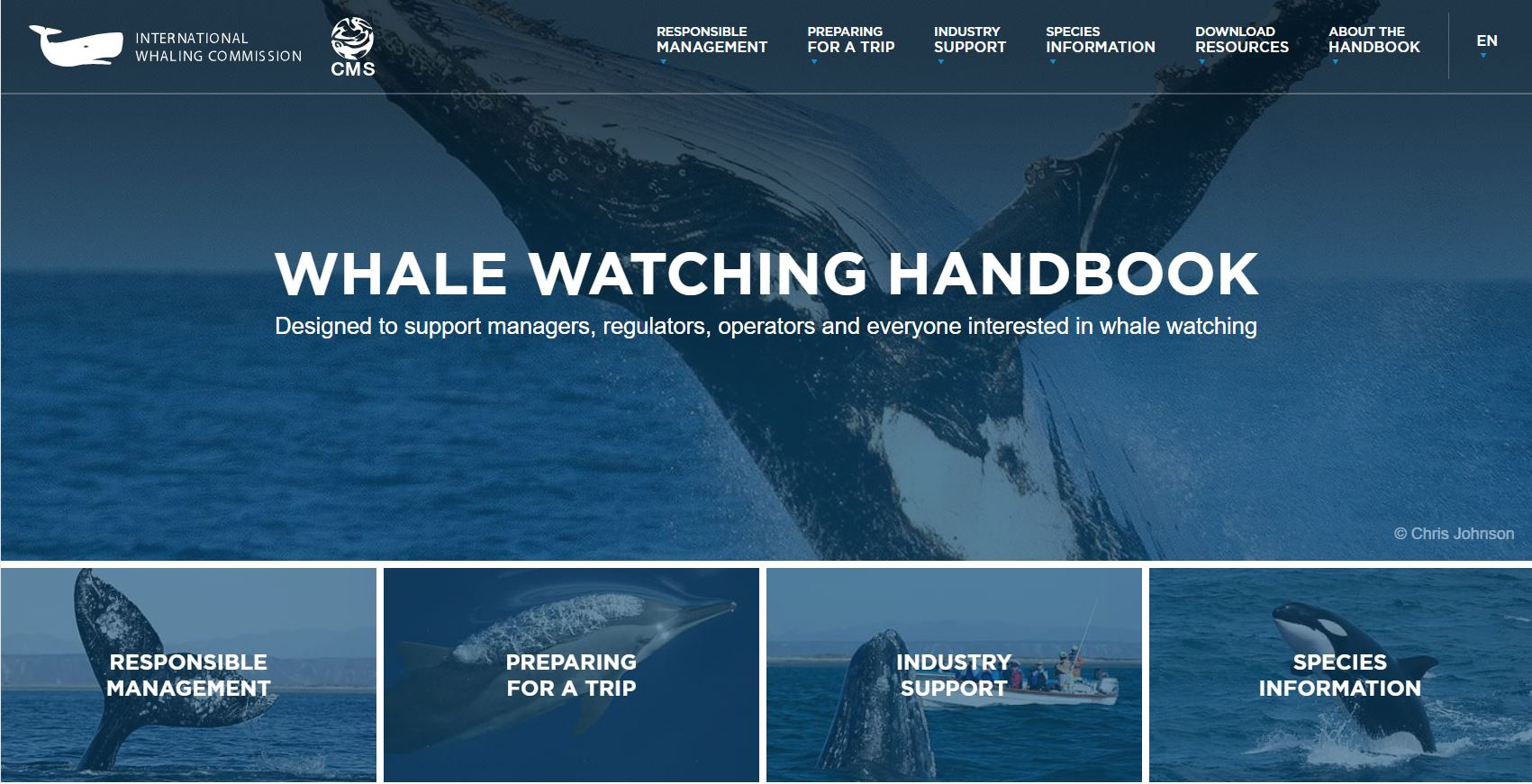 Whale Watching Handbook ©  International Whaling Commission