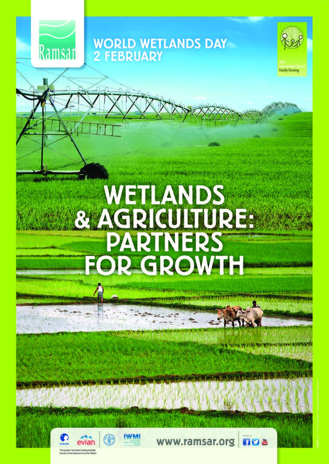 World Wetlands Day 2014 poster © Ramsar