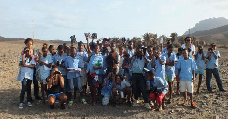 World Migratory Bird Day celebrated in 2014 on the Cape Verde Islands © Biosfera