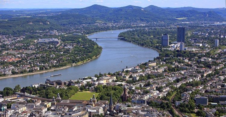 panorama of Bonn © Presseamt Bundesstadt Bonn
