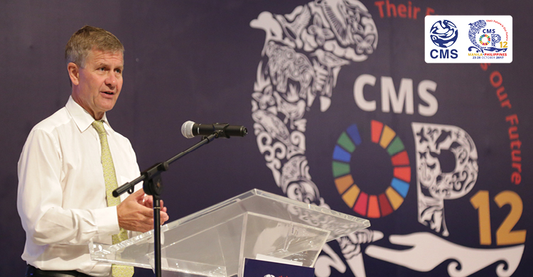 Mr. Erik Solheim, UN Environment Executive Director © DENR