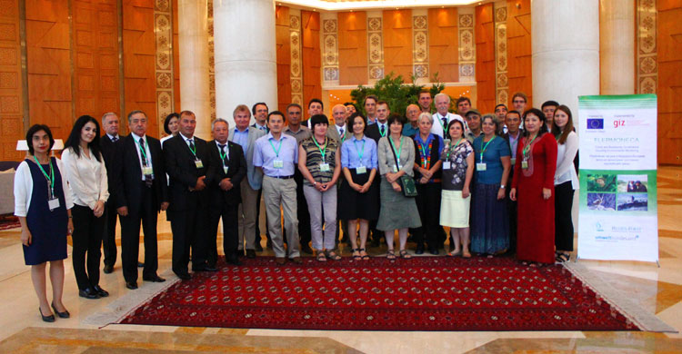 Central Asia Conference participants in Ashgabat, Turkmenistan © GIZ