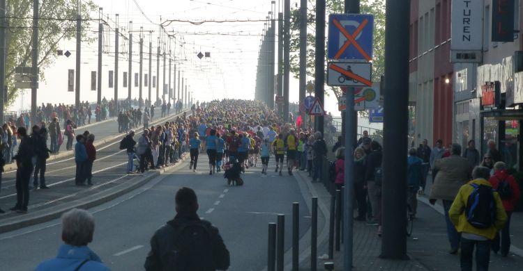 Runners of the Bonn Marathon 2014 © UNEP/CMS Secretariat