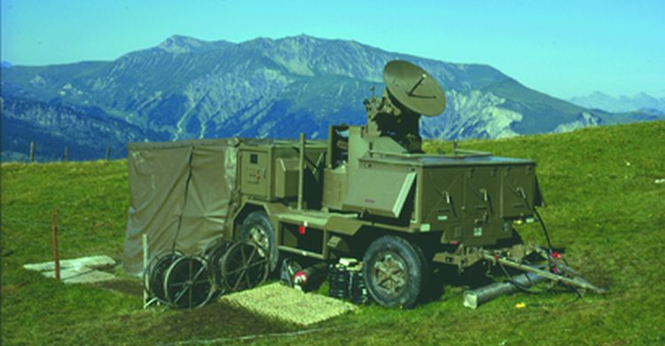 Radar tracking equipment