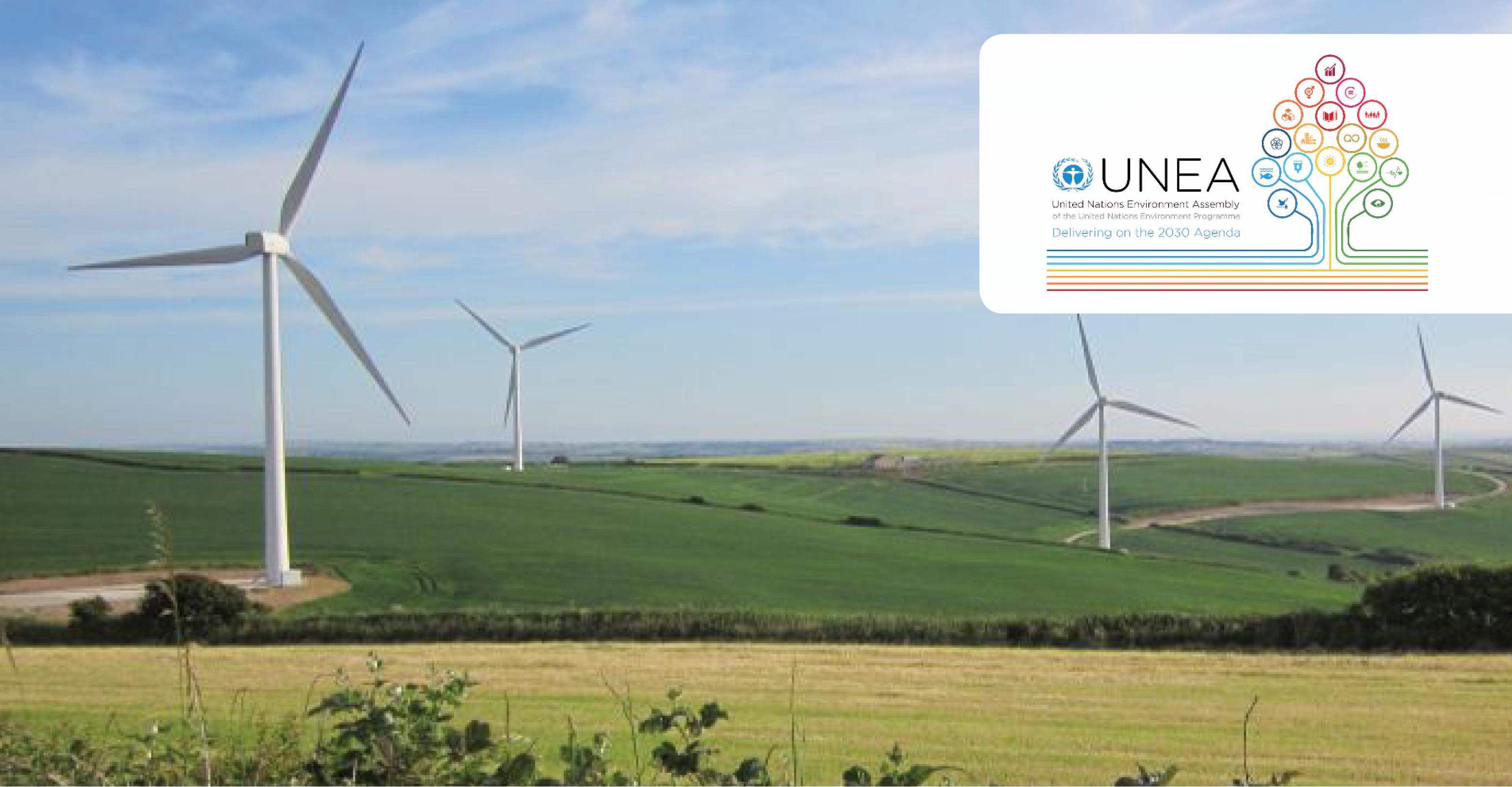 Parc éolien au Royaume-Uni © Robert Vagg, UNEP/CMS