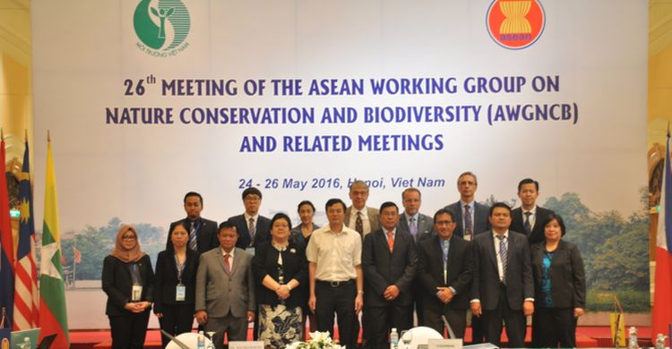 Participants at the ASEAN Biodiversity Working Group © ASEAN