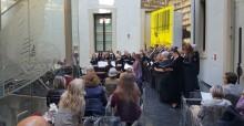 Corale Lirica San Rocco giving a concert at Palazzo Pepoli in Bologna. Photo: Laura Cerasi