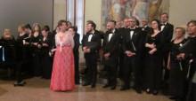 The operatic choir, Corale Lirica San Rocco © Robert Vagg