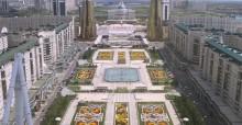 Aerial View of Astana, Capital of Kazakhstan - photo: www.astana.gov.kz