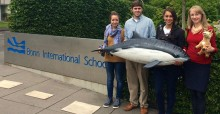 CMS Secretariat Visit to the Bonn International School