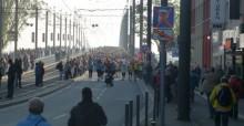 Coureurs du marathon de Bonn en 2014 © PNUE/CMS Secrétariat