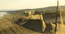 Bird nets along the Egyptian coast © Holger Schulz/NABU