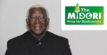 Dr. Alfred Oteng-Yeboah, winner of the MIDORI Prize for Biodiversity 2014