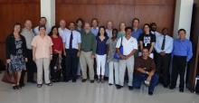 participants at the CMS/WHMSI meetings in Montego Bay, Jamaica