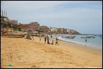 Beach at Ngor Diarama Hotel, Senegal