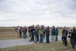 Field trip and observation of Great Bustards in the project area Parndorfer Platte-Heideboden © Förderverein Großtrappenschutz e.V.