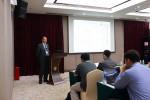 CMS Secretariat presenting