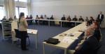 Yelizaveta Protas (UNEP/CMS) addressing Klaus Töpfer Fellowship Scholars © Aydin Bahramlouian, UNEP/CMS