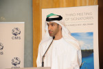 Dr Thani Al Zeyoudi, UAE Minister of Climate Change and Environmentspeaking at the opening - © Environment Agency - Abu Dhabi