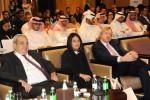 Dr Bradnee Chambers, HE Razan Al Mubarak and Hatem Nuseibeh at the opening of MOS3 in Abu Dhabi - © Environment Agency - Abu Dhabi