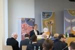 Discours de Fernando Spina lors de la cérémonie de remise des prix des Champions des espèces migratrices © IISD