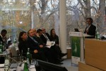 Fernando Spina speaking during the Migratory Species Champions Award ceremony © IISD