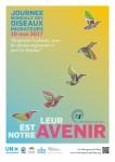 Poster de la Journée mondiale des oiseaux migrateurs 2017