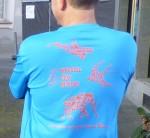 """""""We swim, we fly, we rUN""""- Marathon T-Shirt"""