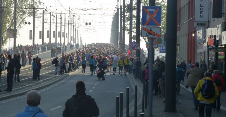 Runners of the Bonn Marathon 2014 © UNEP/CMS Secretariat