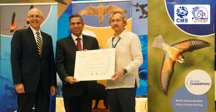 Abu Dhabi, European Commission, Germany, Monaco and Philippines Take Champions Awards at Major UN Wildlife Summit